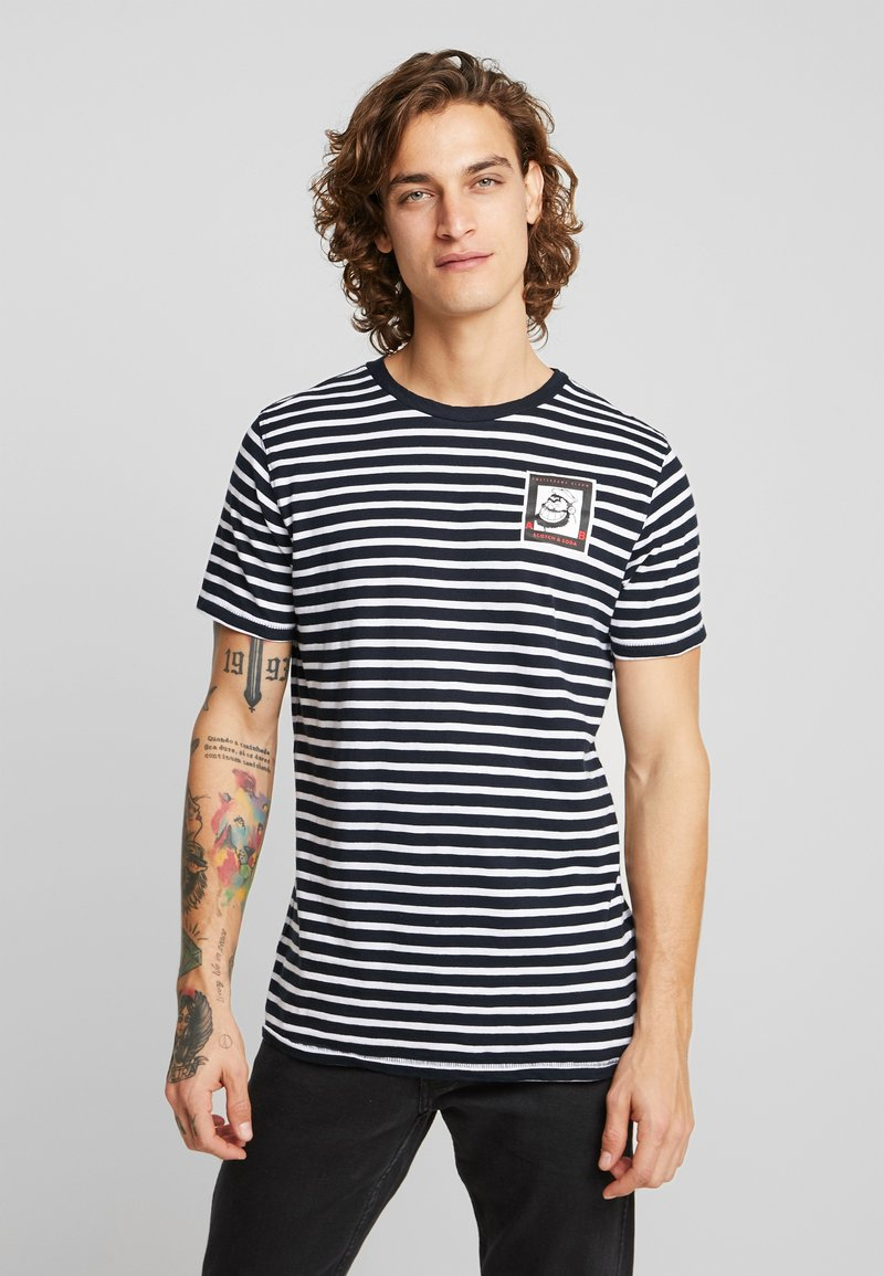 Scotch & Soda - BRUTUS  - T-shirts med print - combo