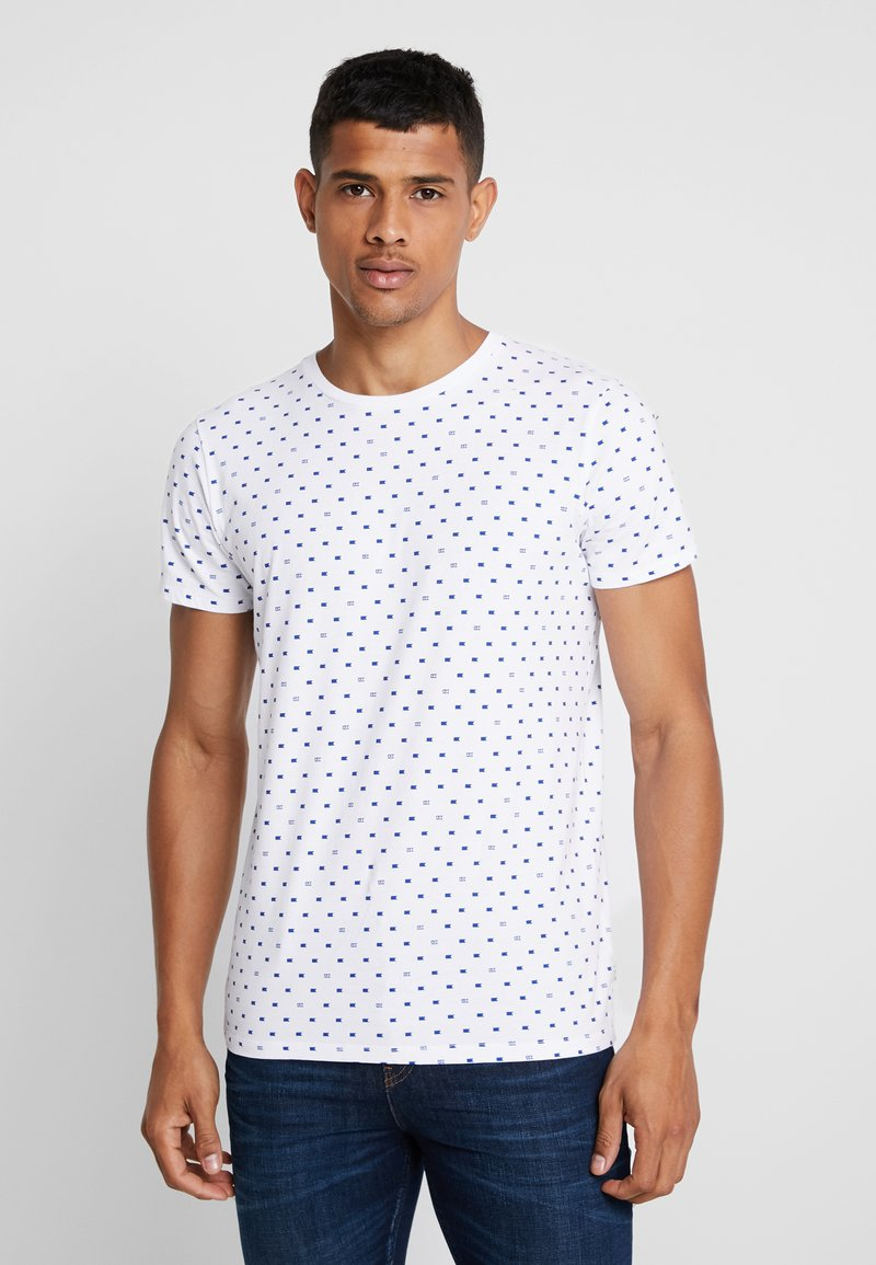 Scotch & Soda - FROM JUMPER AS TEE - T-shirt print - white