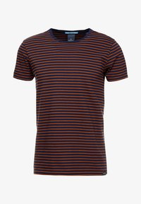 Scotch & Soda - STRIPED TEE  - T-shirt print - dark blue - 4