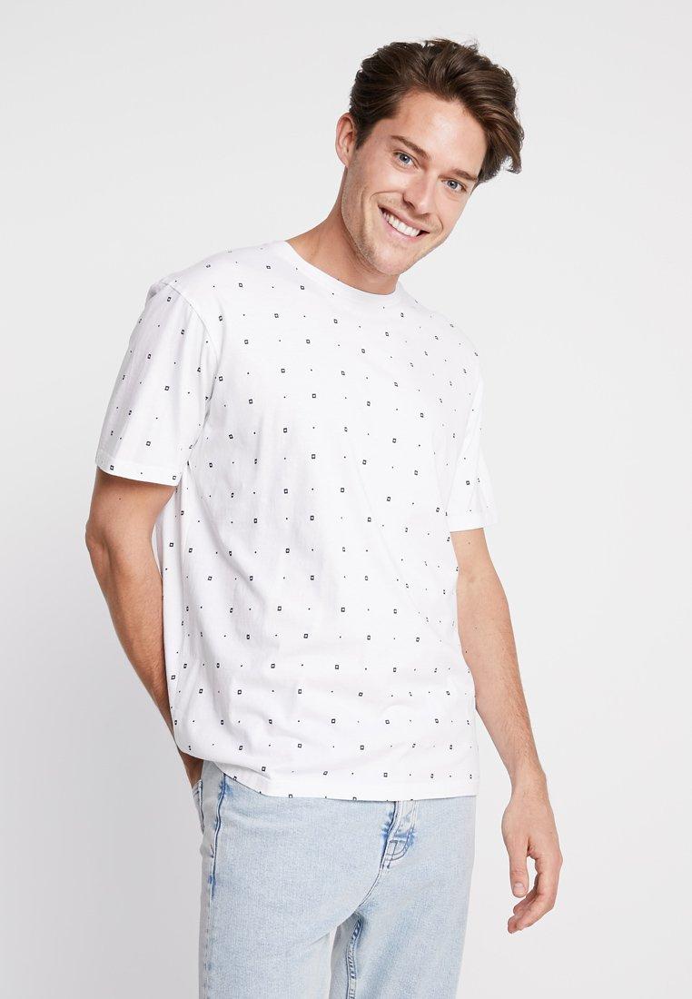Scotch & Soda - CLASSIC CREWNECK TEE - T-shirt imprimé - white