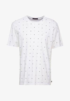 CLASSIC CREWNECK TEE - T-shirt print - white