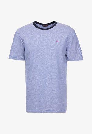 CLASSIC CREWNECK TEE - Print T-shirt - blue