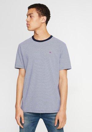 CLASSIC CREWNECK TEE - T-Shirt print - blue