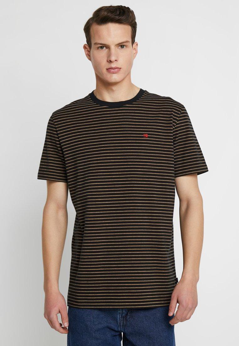 Scotch & Soda - CLASSIC CREWNECK TEE - T-shirt con stampa - black