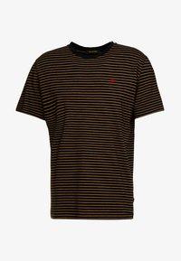 Scotch & Soda - CLASSIC CREWNECK TEE - T-shirt con stampa - black - 4