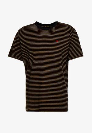 CLASSIC CREWNECK TEE - Camiseta estampada - black
