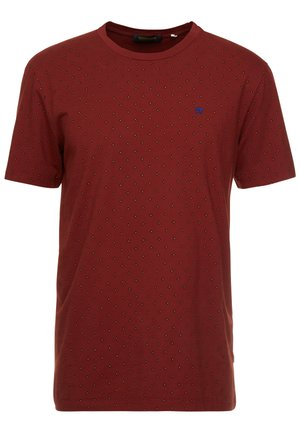 CLASSIC CREWNECK TEE - T-Shirt print - red