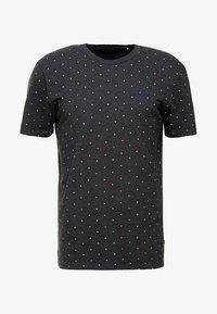 Scotch & Soda - CLASSIC CREWNECK TEE - Print T-shirt - black - 3