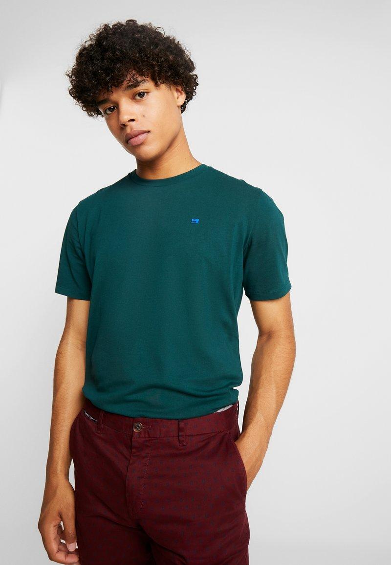 Scotch & Soda - CREWNECK TEE - T-Shirt basic - bottle green