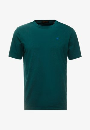 CREWNECK TEE - Camiseta básica - bottle green