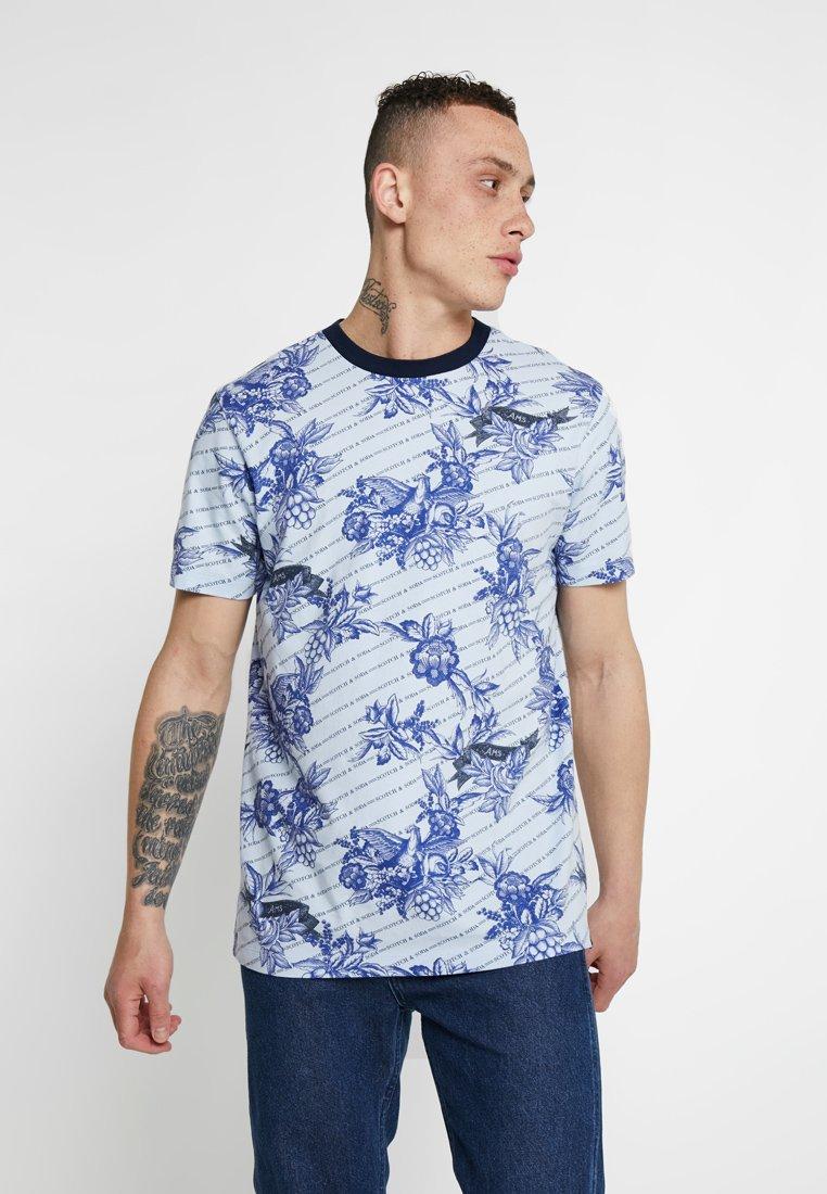 Scotch & Soda - T-shirt imprimé - light blue