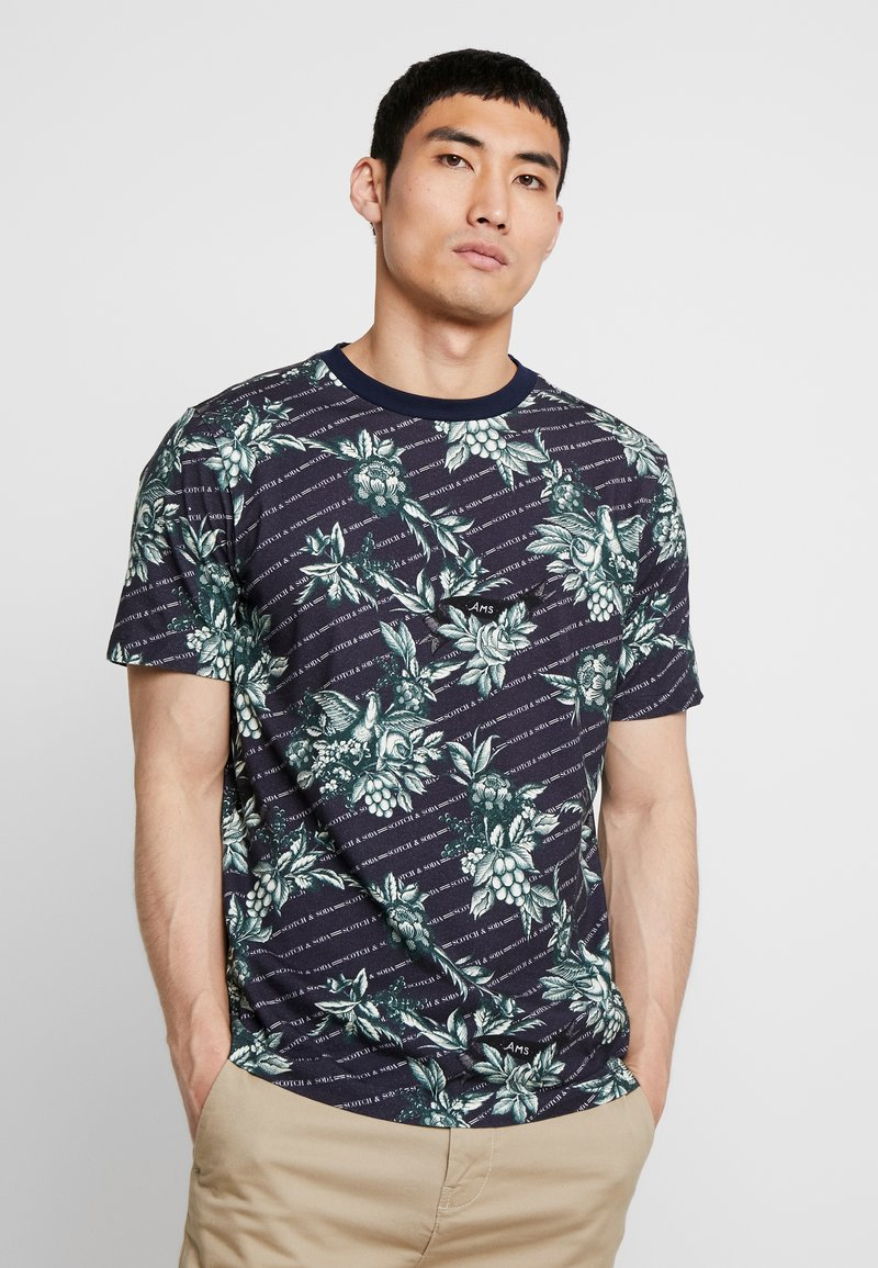 Scotch & Soda - Print T-shirt - combo