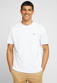 Scotch & Soda - CREW NECK TEE - T-shirt basic - white - 0