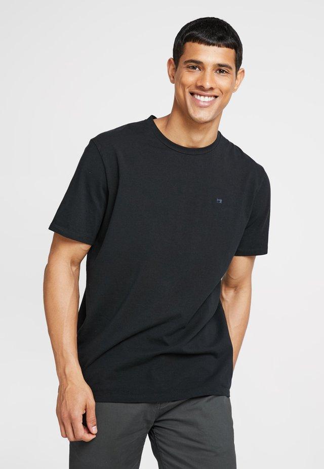 CREW NECK TEE - T-shirt basic - black