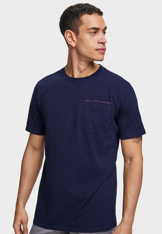 TEE IN SOLID - Print T-shirt - blue