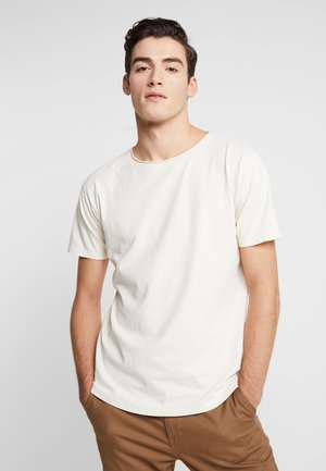 WITH SUBTLE STYLING DETAILS - Basic T-shirt - ecru