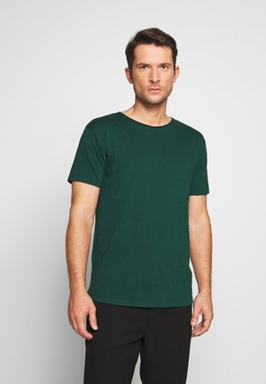 WITH SUBTLE STYLING DETAILS - T-Shirt basic - green smoke