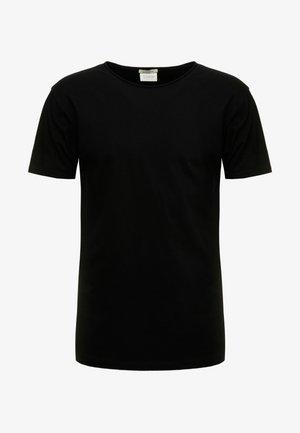 WITH SUBTLE STYLING DETAILS - Basic T-shirt - black