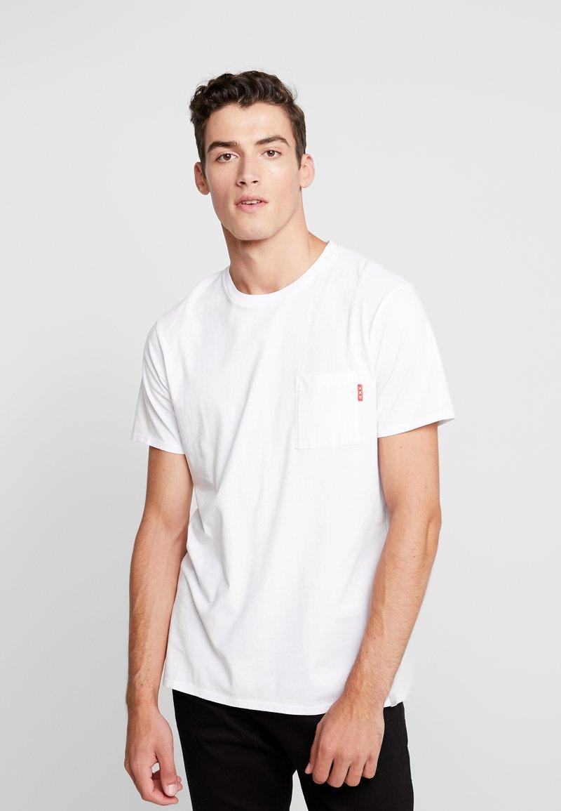Scotch & Soda - CLASSIC POCKET TEE - T-shirt basic - white