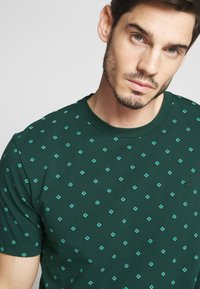 Scotch & Soda - T-shirt print - teal - 4