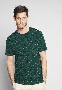 Scotch & Soda - T-shirt print - teal - 0