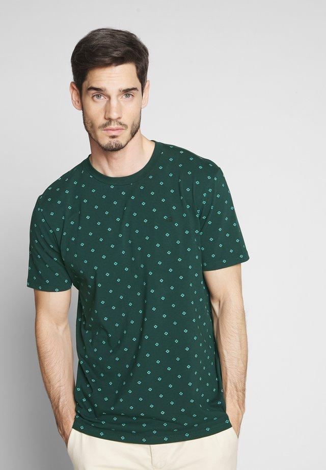 Print T-shirt - teal