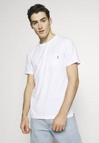 Scotch & Soda - T-shirt basic - white - 0