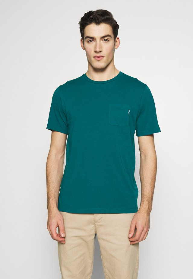 T-shirt basic - deep sea green