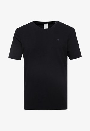 V-NECK TEE - T-shirt basic - black