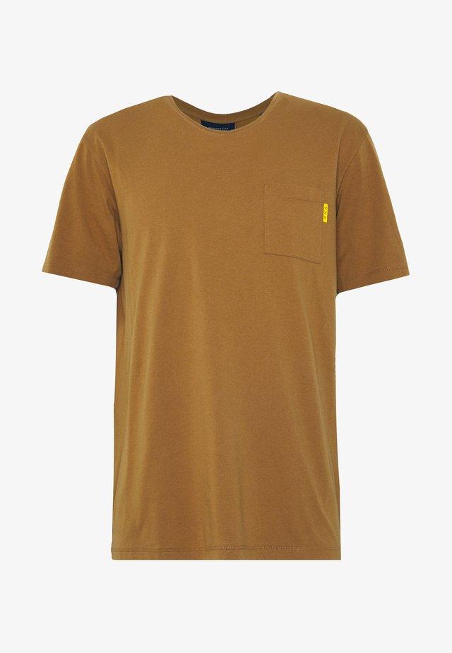 T-Shirt basic - tobacco