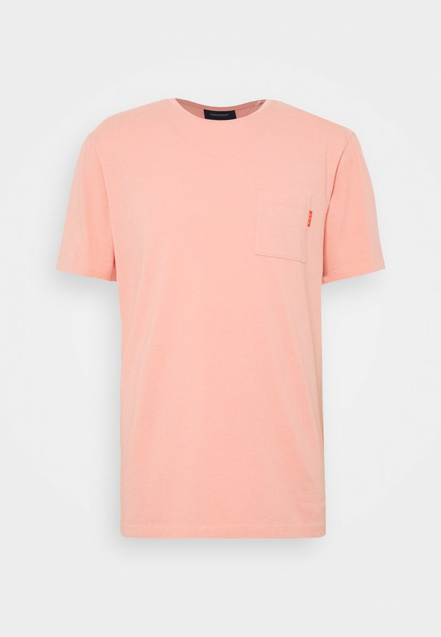 T-shirt basic - pink smoke