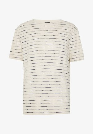 SHORT SLEEVE TEE WITH ALLOVER PRINT - T-shirt print - combo