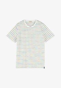 Scotch & Soda - SPACE DYE - T-shirt print - white - 2