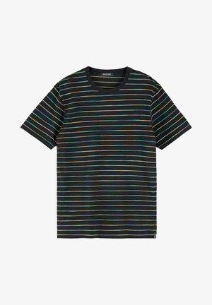 SPACE DYE - T-shirt print - blue