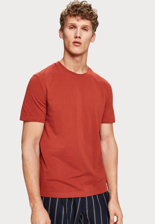 T-shirt basic - rum