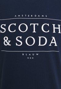 Scotch & Soda - SHORT SLEEVE LOGO TEE - T-shirt print - navy - 2