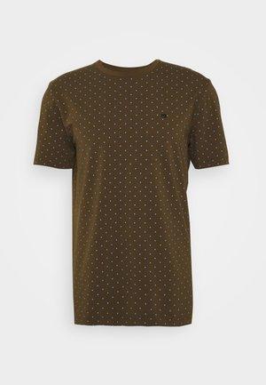 CLASSIC CREWNECK TEE - T-shirt print - khaki