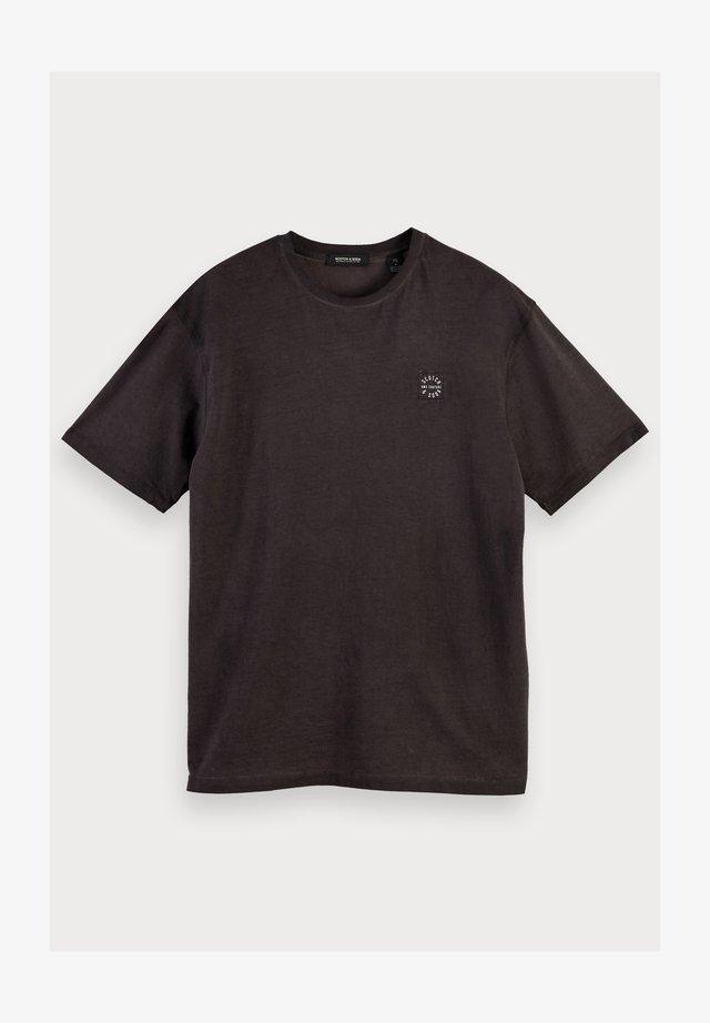 T-shirt basic - bordeaubergine