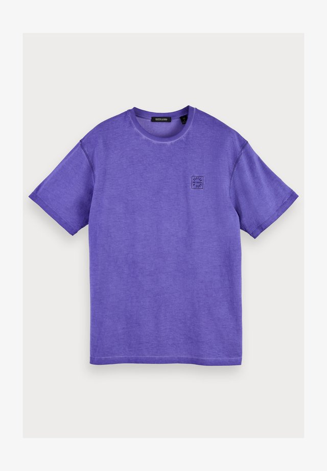 T-shirt basic - purple cove