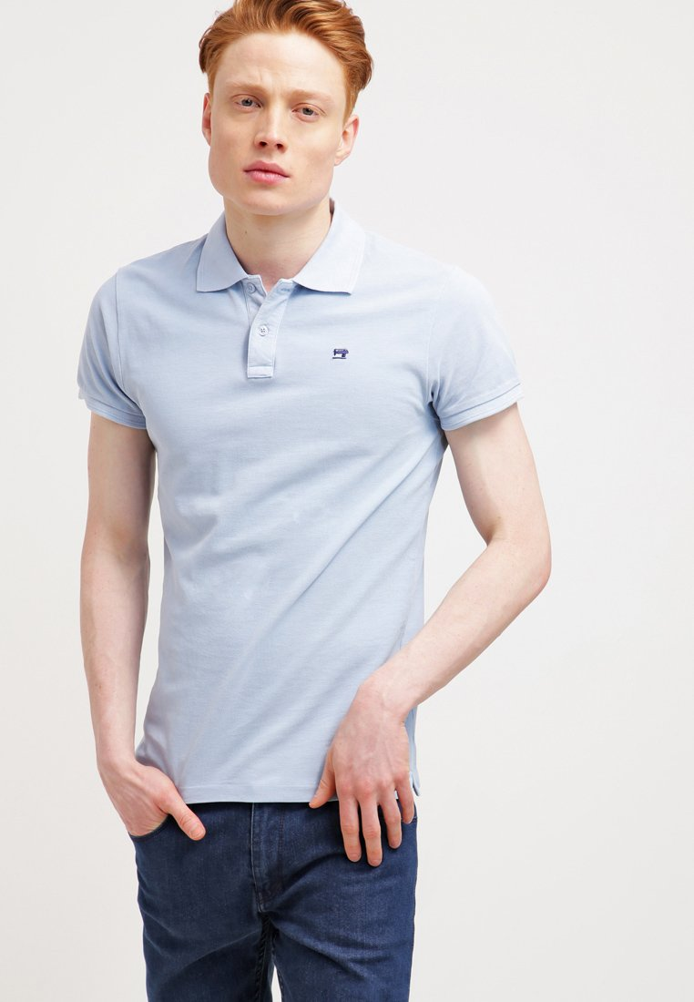 Scotch & Soda - CLASSIC GARMENT  - Poloskjorter - blue