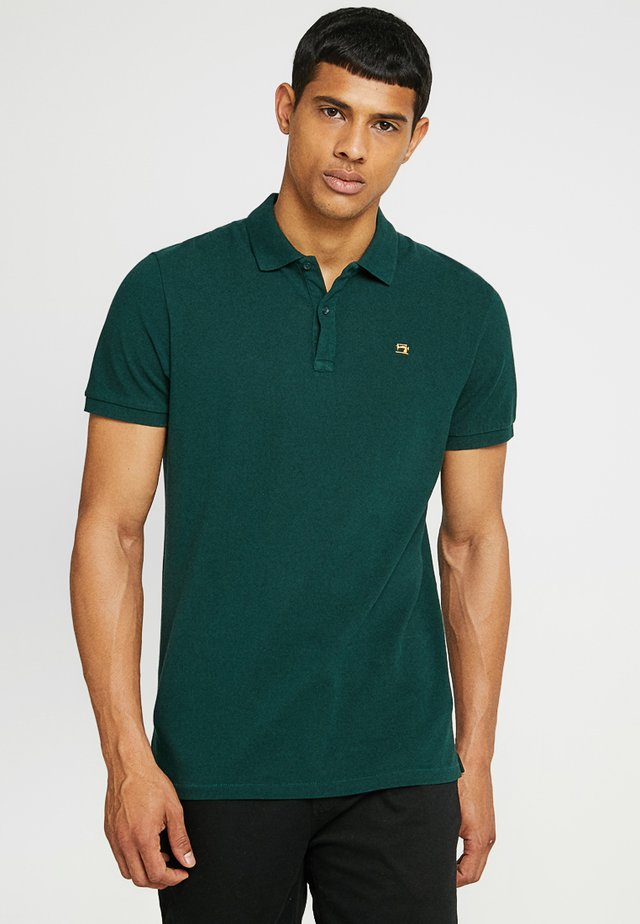 CLASSIC GARMENT  - Poloskjorter - bottle green