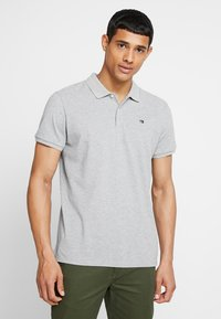 Scotch & Soda - CLASSIC CLEAN - Polotričko - grey melange - 0