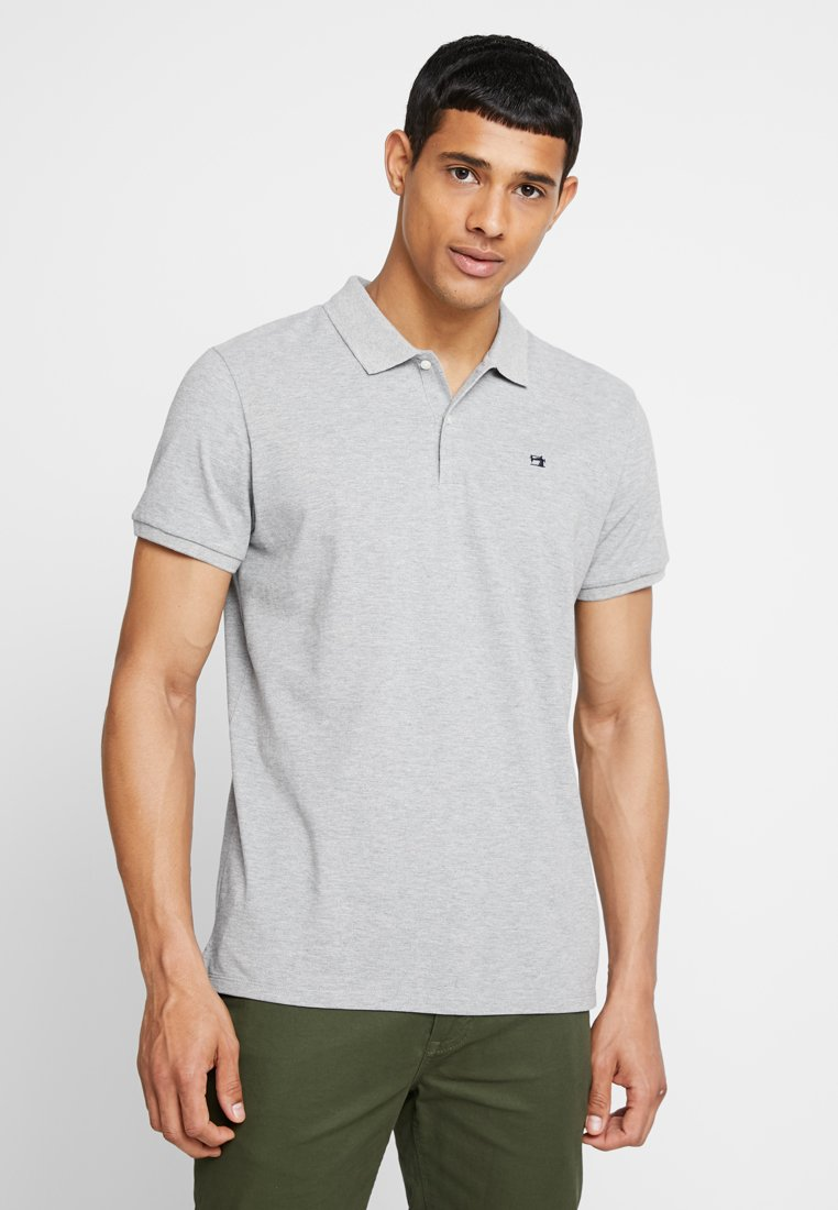 Scotch & Soda - CLASSIC CLEAN - Polotričko - grey melange