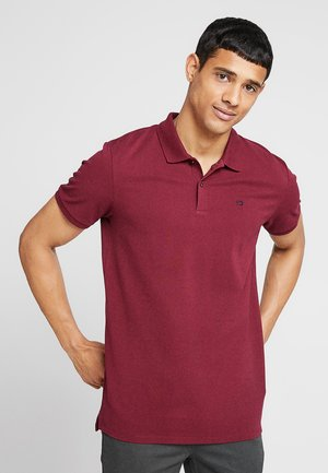 CLASSIC CLEAN - Koszulka polo - bordeaux
