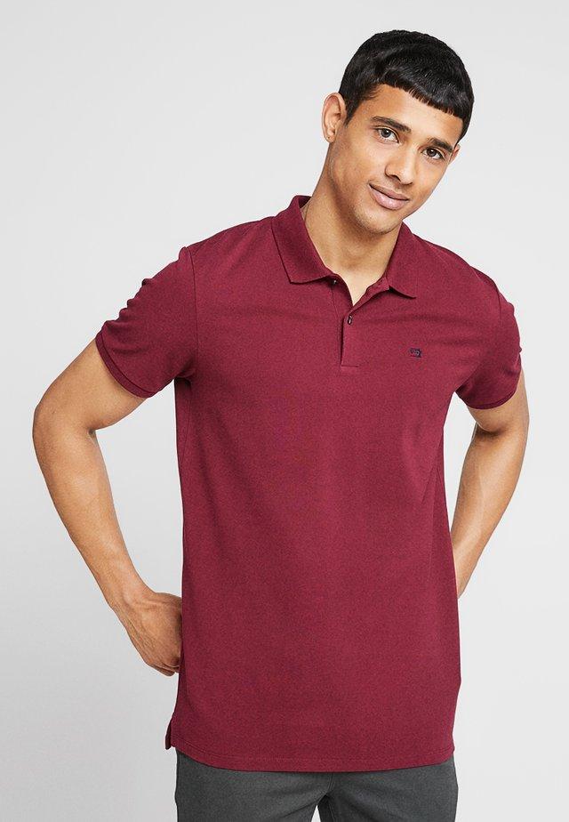 CLASSIC CLEAN - Poloshirts - bordeaux