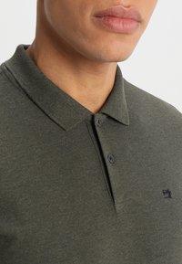 Scotch & Soda - CLASSIC CLEAN - Polo shirt - military melange - 3