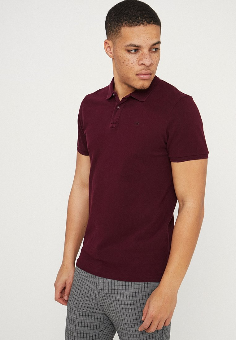 Scotch & Soda - GARMENT DYED - Polo shirt - deep purple