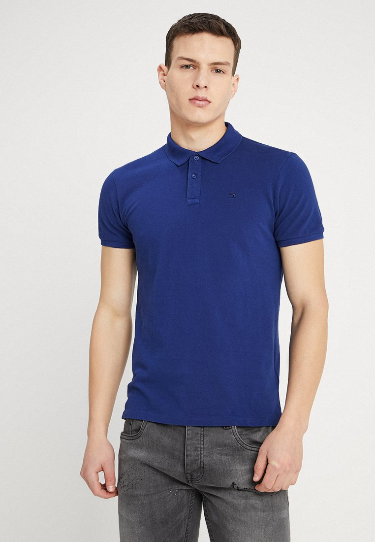 Scotch & Soda - GARMENT DYED - Polo shirt - royal