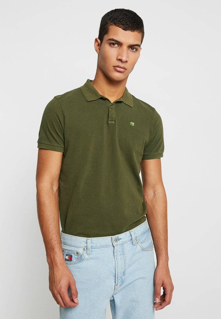 Scotch & Soda - CLASSIC GARMENT DYED - Polo - army