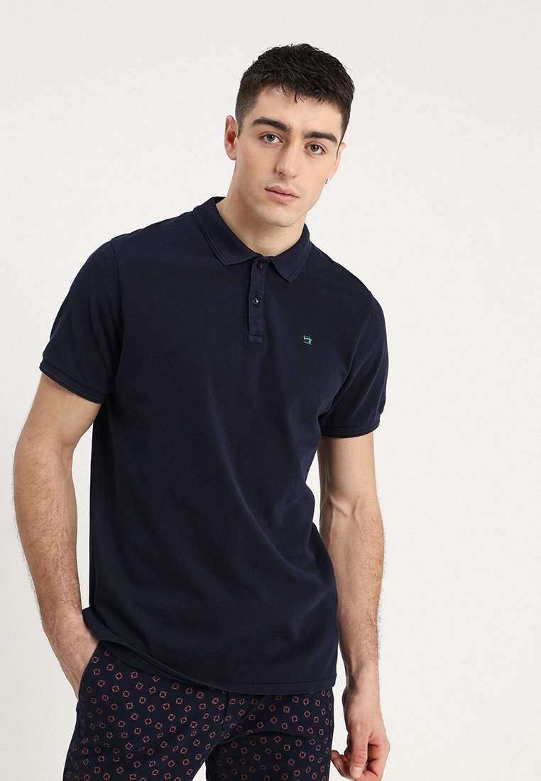 Scotch & Soda - CLASSIC GARMENT DYED - Polo shirt - navy